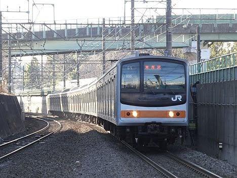 武蔵野線 東所沢行き3 205系メルヘン顔(LED)