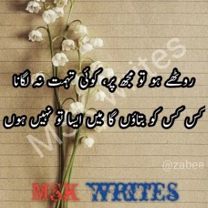 Urdu Poetry In Urdu