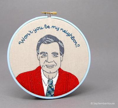 Mr Rogers Won't You Be My Neighbor Embroidery Pattern Hand Embroidery by SeptemberHouse