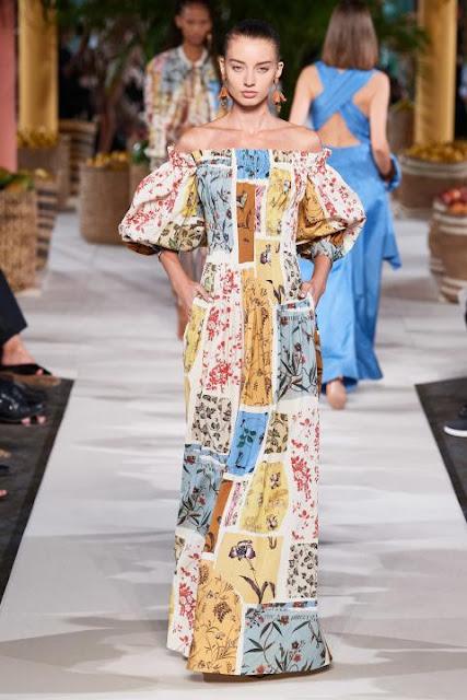 Модное платье весна-лето 2020 34