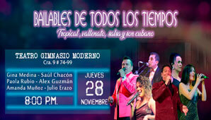BAILABLES DE TODOS LOS TIEMPOS en Bogotá 2019