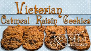 Kristin Holt | Victorian Oatmeal Raisin Cookies