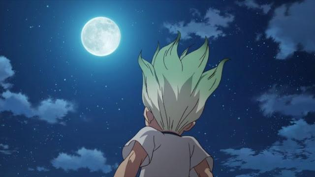 Dr. Stone Chapter 139 Musuh Ada di Bulan?