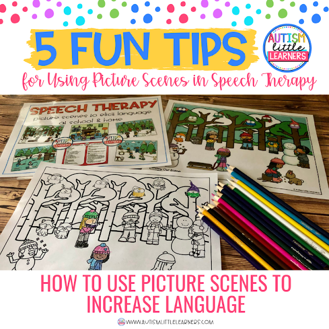 5 fun tips for using picture scenes to increase language