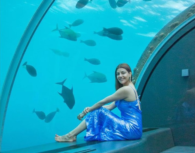 Kajal Aggarwal's bedroom made in the depths of the sea, see beautiful  pictures of honeymoon – Suspense Crime,Crime News,Crime Suspense