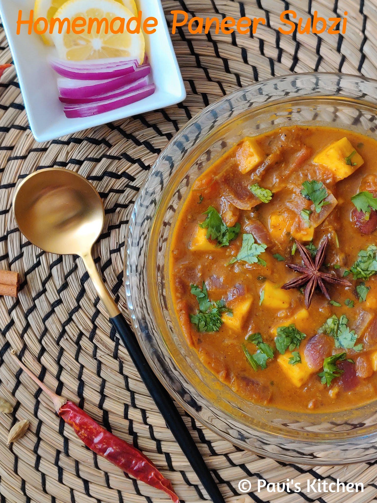 Quick paneer sabzi recipe | easy paneer curry recipe | simple paneer ki sabji