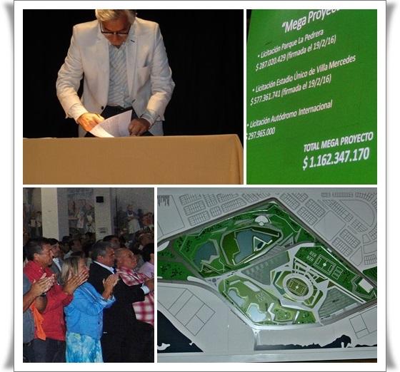 Circuito La Pedrera : Noticias el gobierno provincial formalizo proyecto del