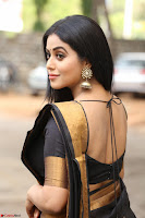 Poorna in Cute Backless Choli Saree Stunning Beauty at Avantika Movie platinum Disc Function ~  Exclusive 027.JPG