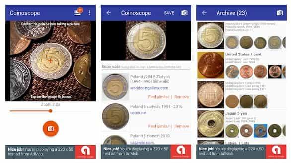 تطبيق Coinoscope