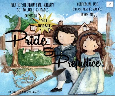 Pride and Prejudice clip-art