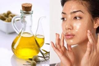 olive oil untuk wajah