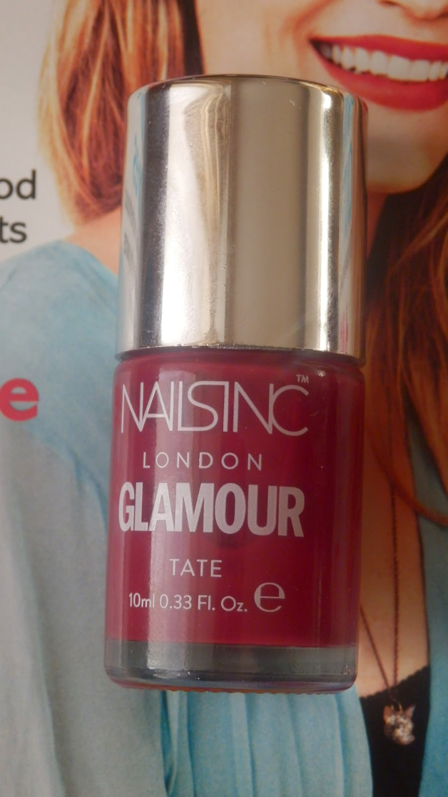 Glamour Magazine Nails Inc Freebies