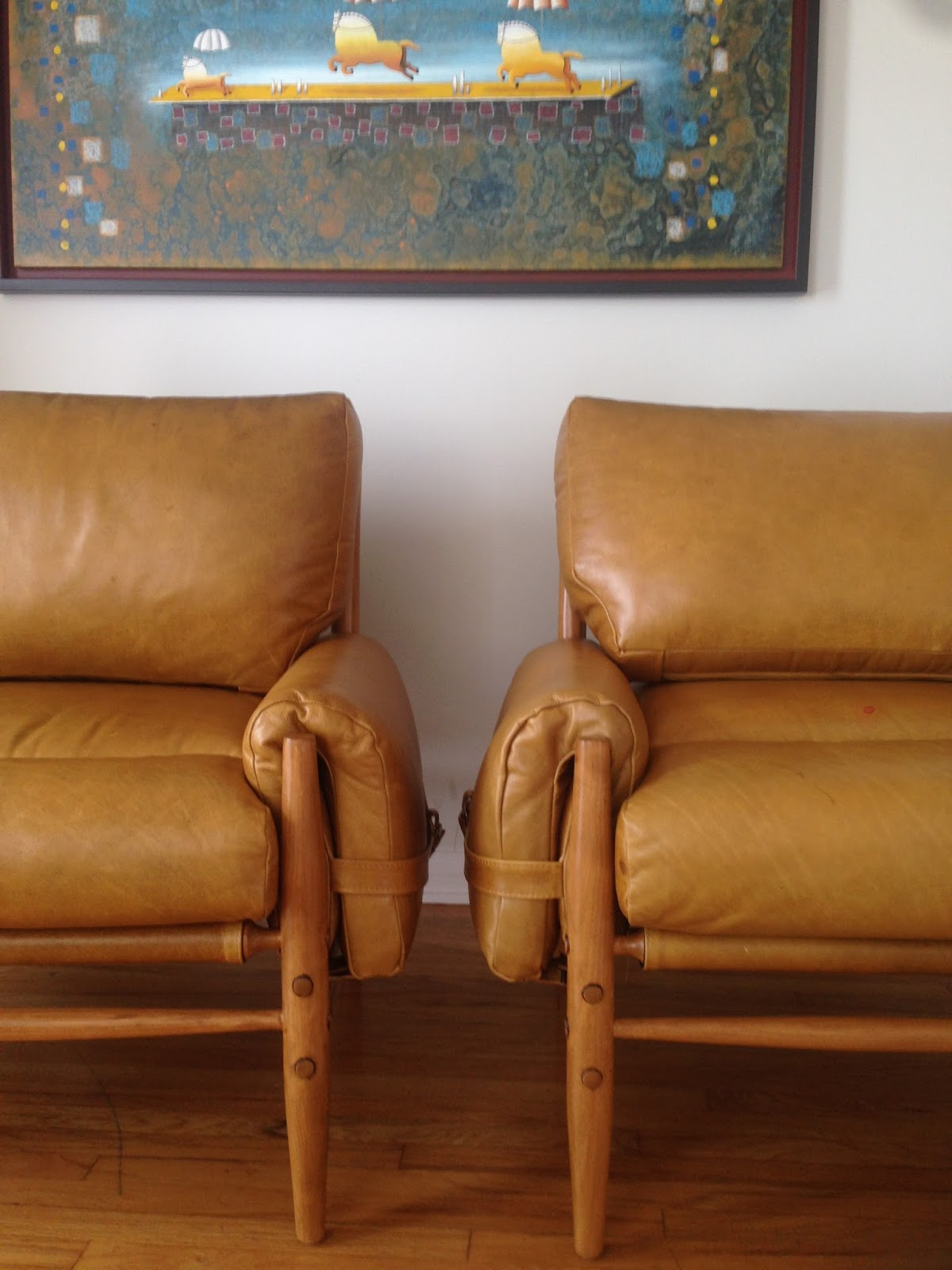 Meet Our Two Newest Home Additions: Our Tan Leather Chairs. What Was One Of  The Main Things I Took Into Consideration Before Purchasing Them For Our  Home?