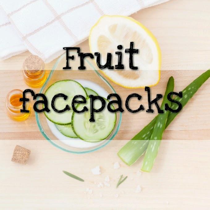 Summer fruit facepacks for oily skin