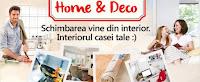 Castiga 1 card cadou eMAG Home&Deco in valoare de 500 lei