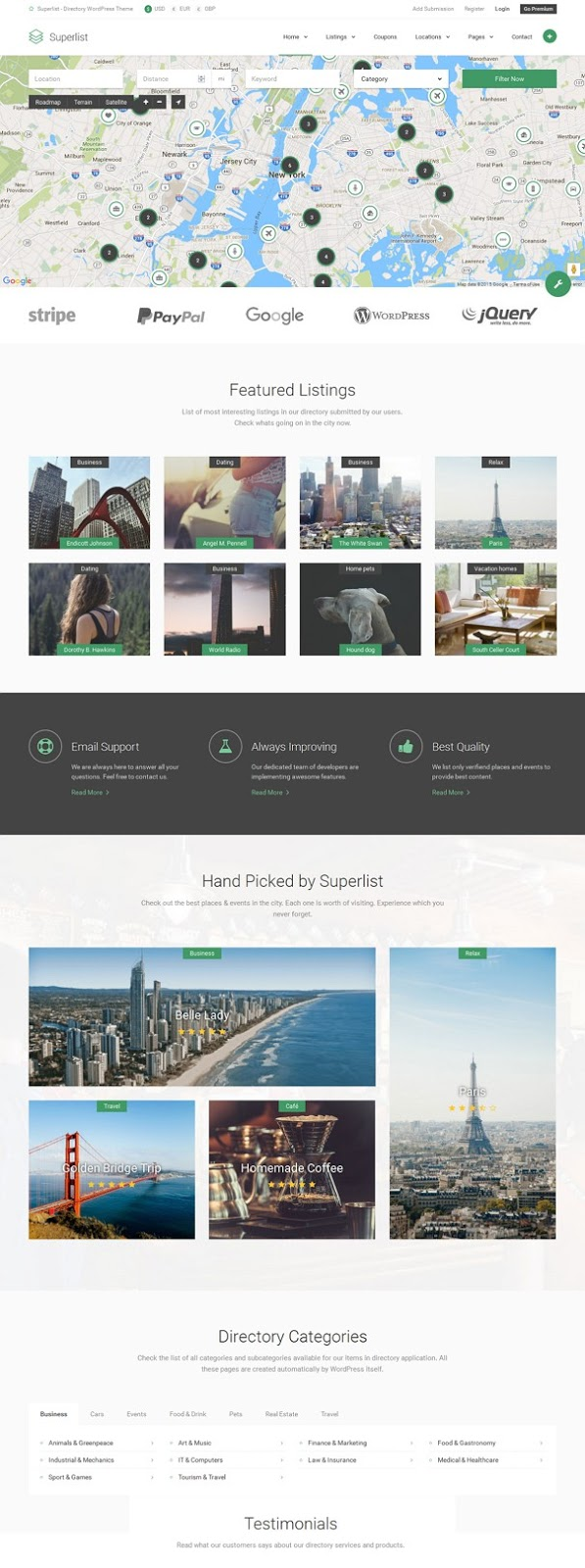 Best Directory WordPress Theme