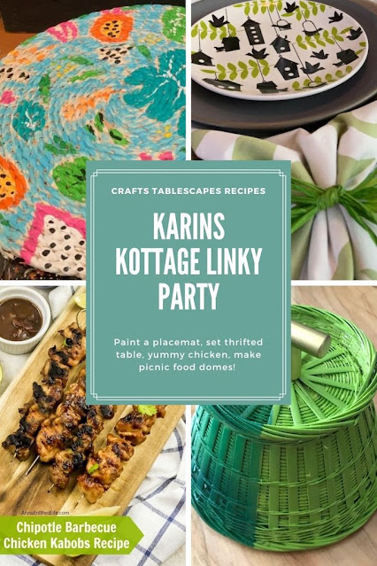 Karins Kottage Linky Party