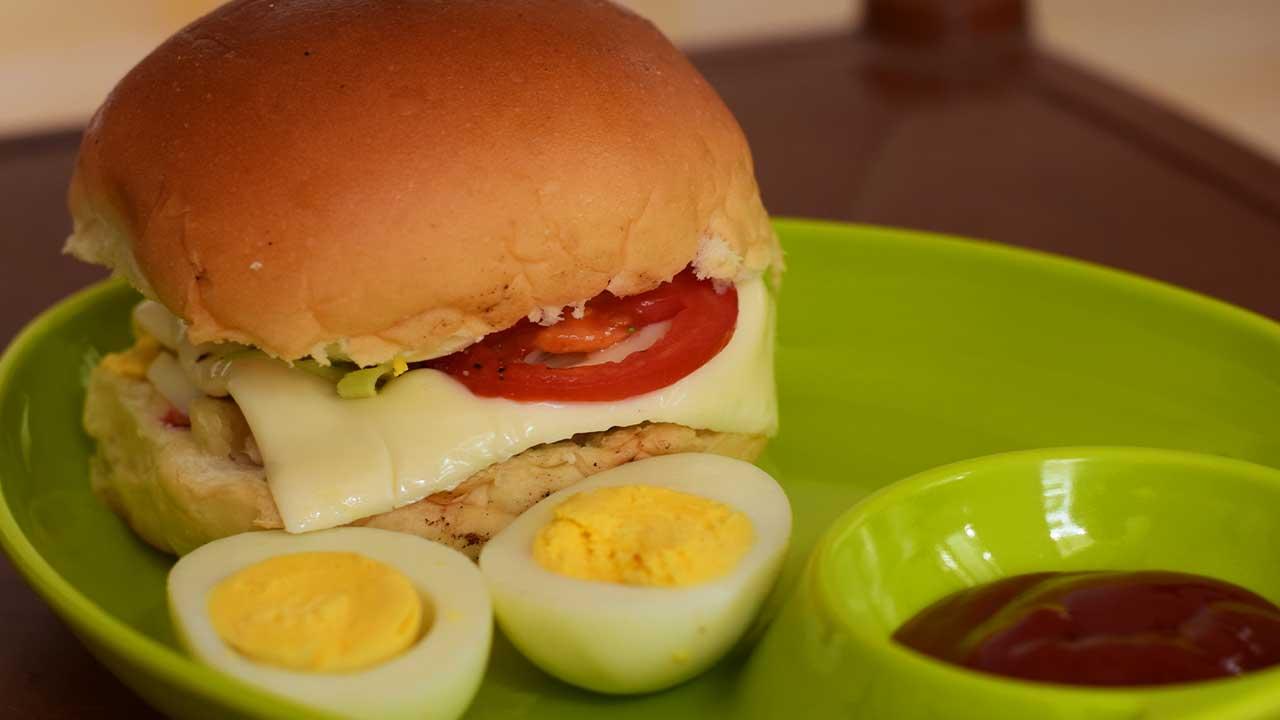 अंडा पाव - पाककृती | Anda Pav - Recipe