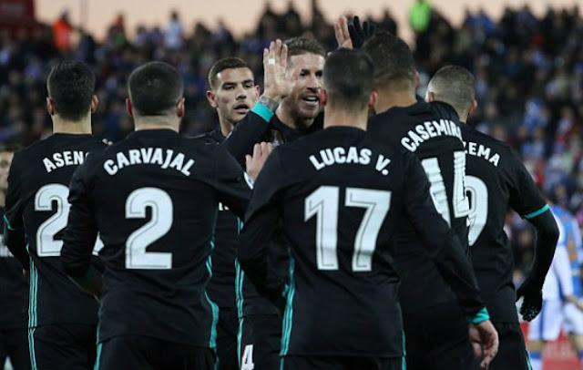 Video Leganes - Real Madrid: Ngược dòng đẳng cấp, penalty phút 90
