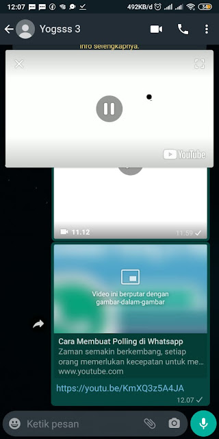 Cara Membagikan Video Offline Youtube ke WA 10