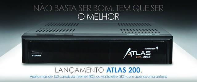 CRISTOR ATLAS HD-200 NOVA ATUALIZAÇÃO - 19/07/2016