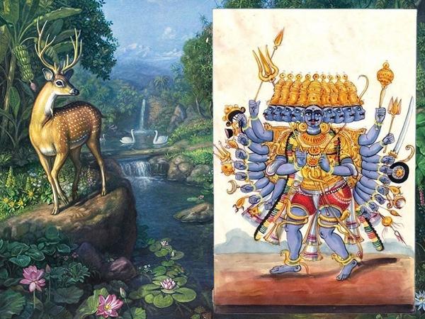 Ramayana Chapter 23- Maricha Discovered Ravana