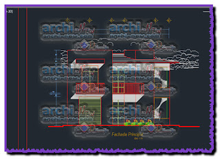 download-autocad-cad-dwg-file-family-housing-with-storefront-store