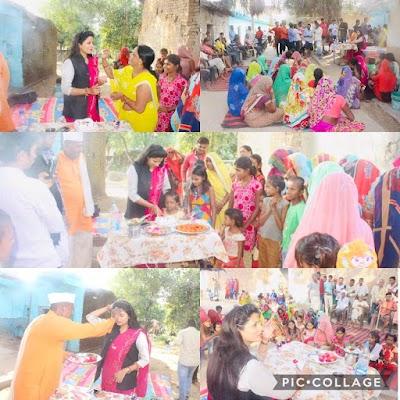 मानिकपुर में मातृशक्ति द्वारा डॉ. रश्मि सिंह का जन्मदिन पूरे हर्षोल्लास के साथ मनाया गया