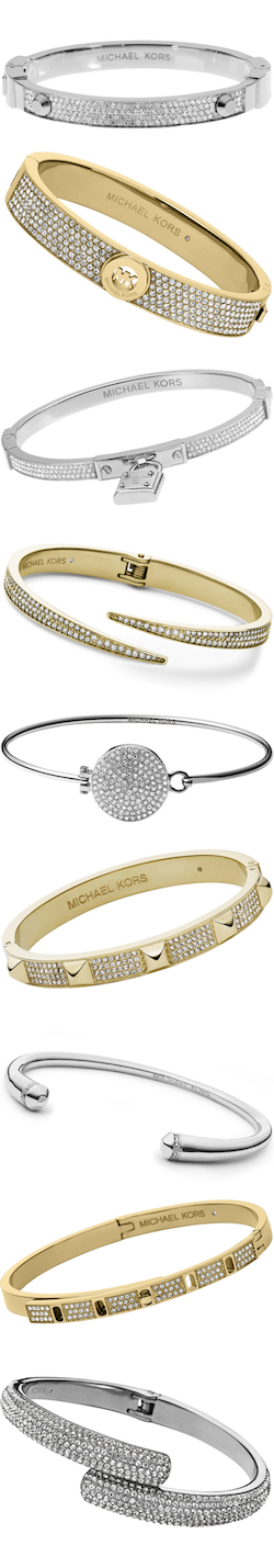 MICHAEL KORS ASSORTED BRACELETS