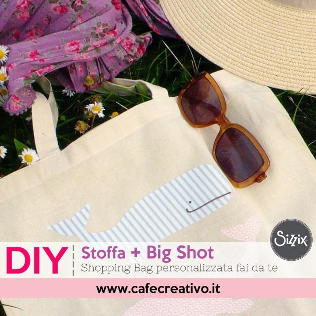 Idea regalo per la festa della mamma: Shopping Bag fai da te