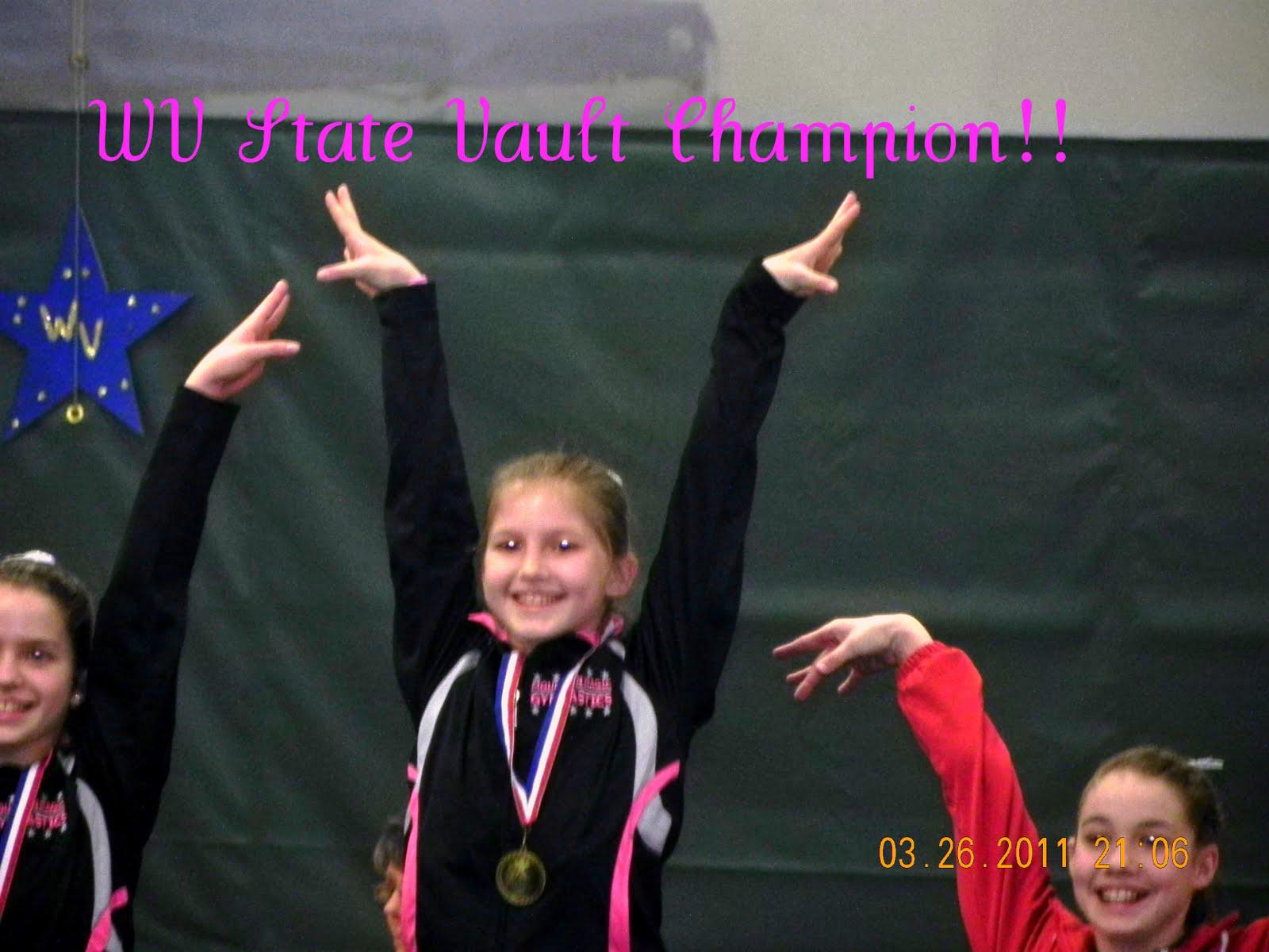 wv state gymnastics meet scores