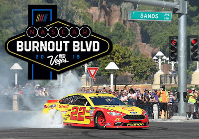 Joey Logano was Awarded 'Best Burnout' #NASCAR