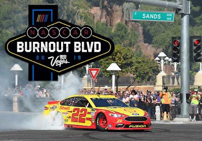 Joey Logano was Awarded 'Best Burnout' #NASCAR