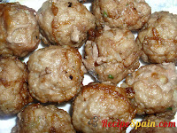 Meatballs fried