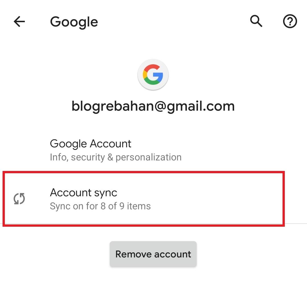 Cara Backup Kontak Dengan Gmail