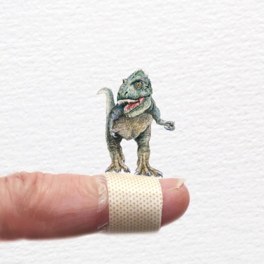 08-T-Rex-Dinosaur-Frank-Holzenburg-www-designstack-co