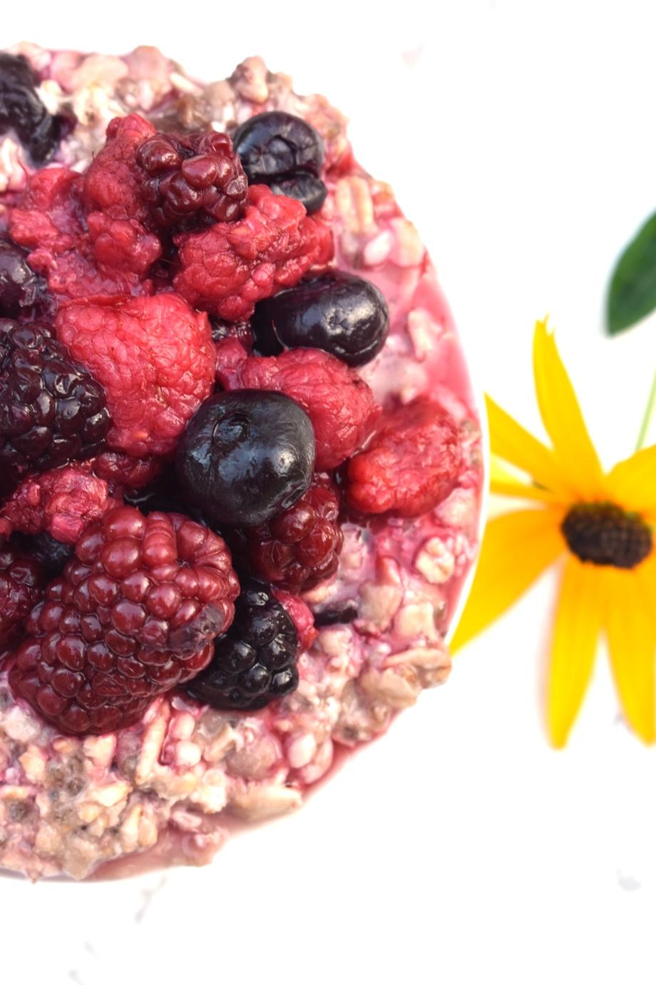 Berry Chia Oatmeal