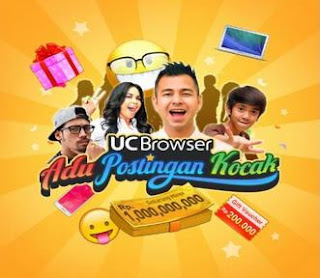 Kontes UC Browser Berhadiah 1 Miliyar
