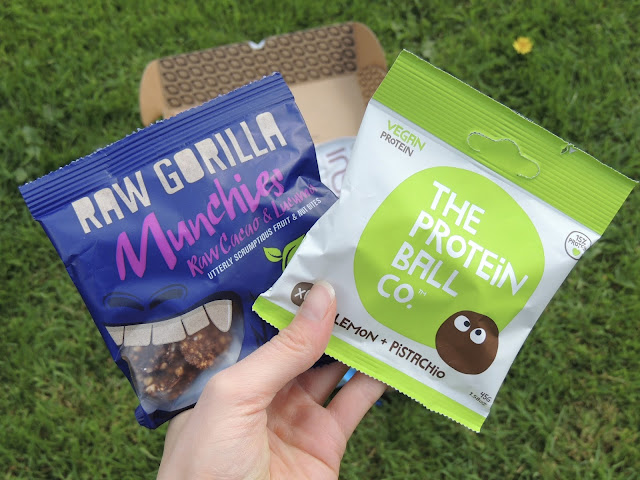 The protein ball co. lemon and pistachio, raw gorilla munchies