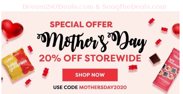 Kiss My Keto 20% OFF Site Wide