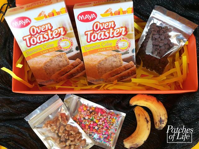 MAYA Oven Toaster Banana Cake Mix