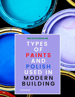 Different Types of Paints And Polish Used in Modern Buildings