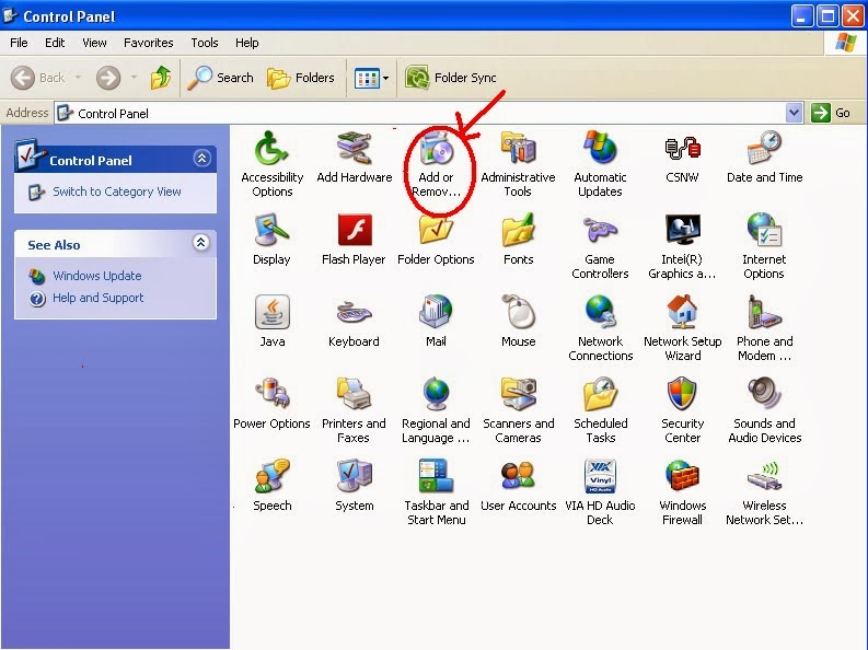 how to remove unwanted files from c drive in xp
