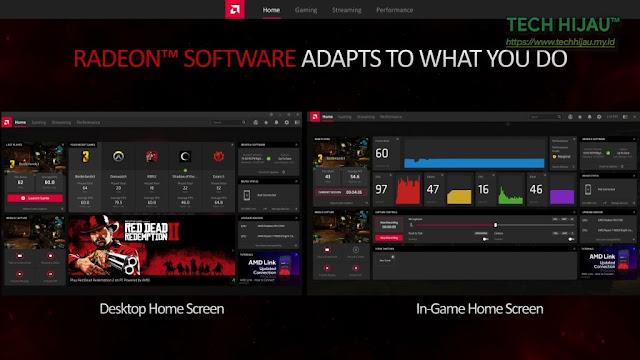 Tech Hijau™ — AMD Radeon Software Adrenalin 2020 Edition - New UI