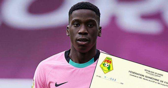 Guinea FA send letter of appreciation to Laporta over Moriba decision