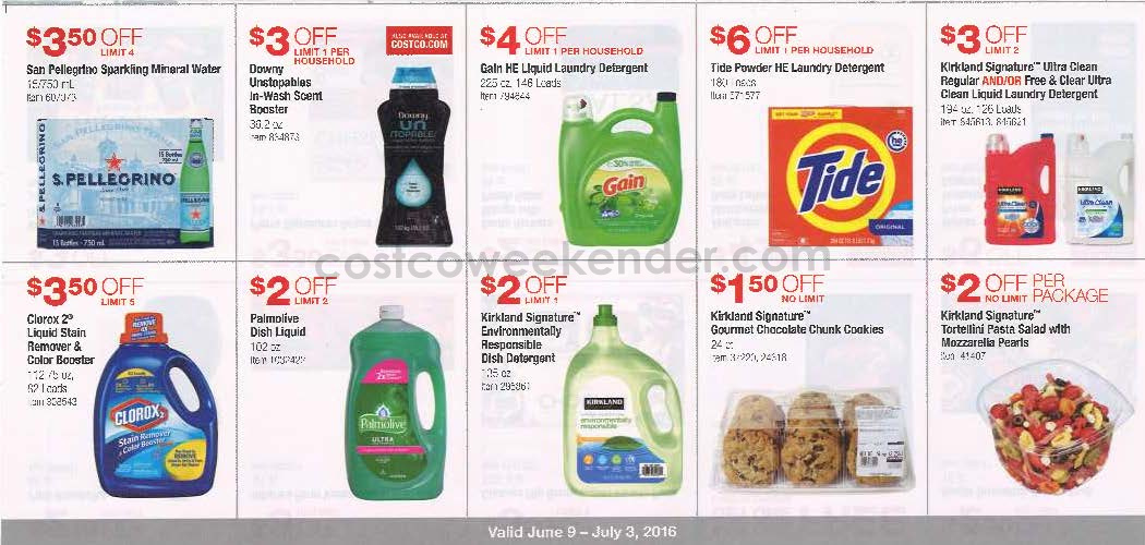 Current coupons at costco