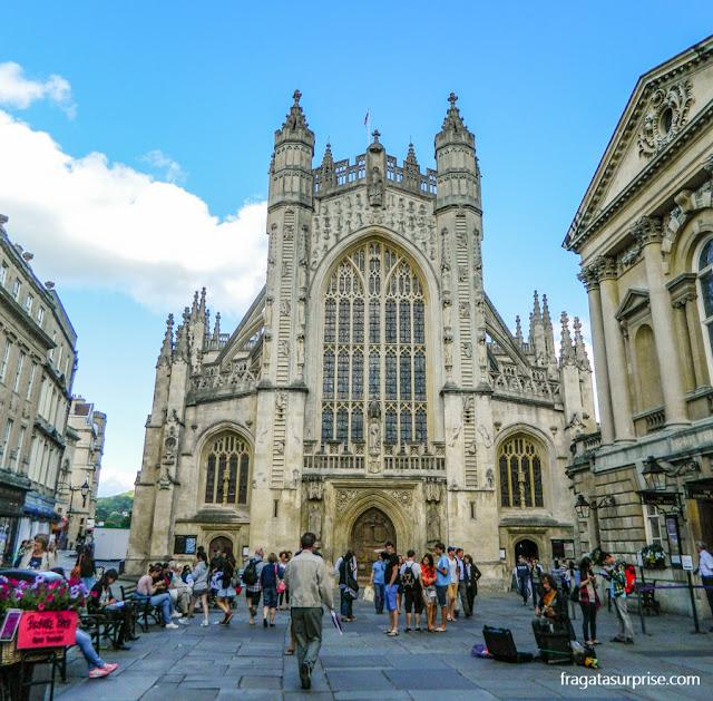 Abadia de Bath, Inglaterra