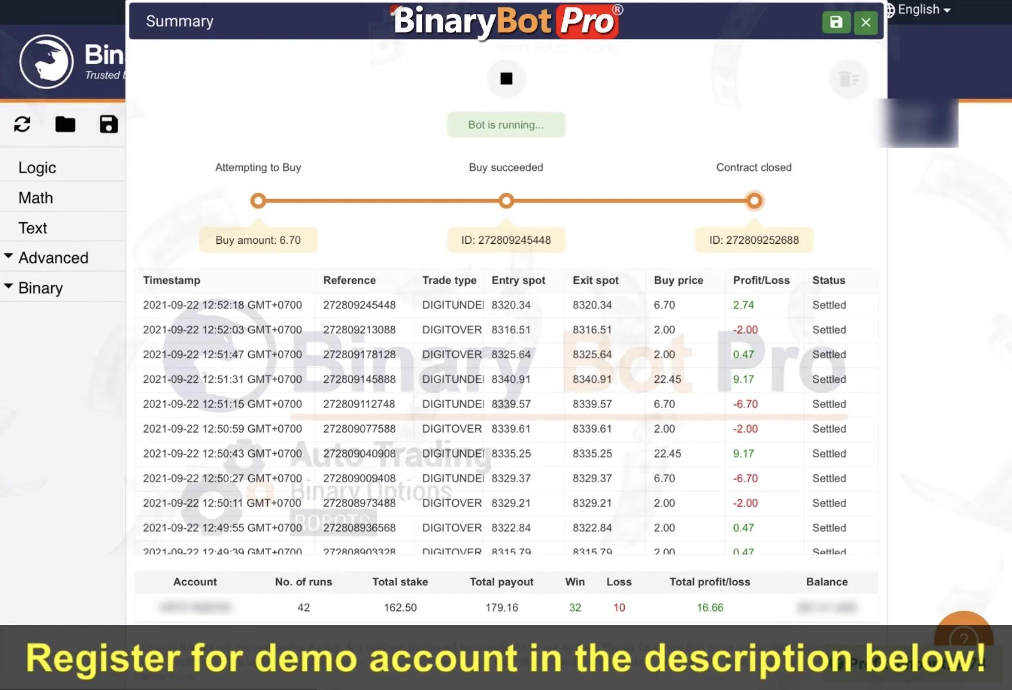 Binary Bot Pro