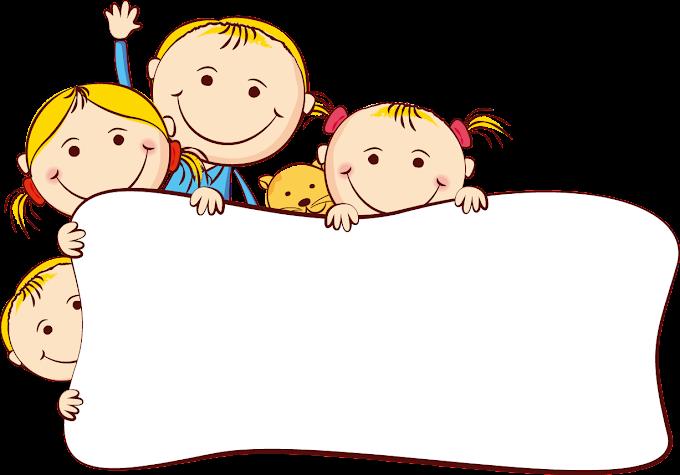 Cartoon Drawing, Cute cartoon kids frame, children, frame, mammal png by: pngkh.com