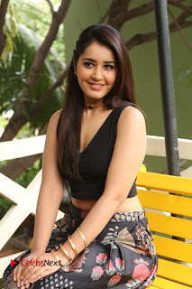 Actress Rashi Khanna Pictures at Hyper Movie Interview 0276
